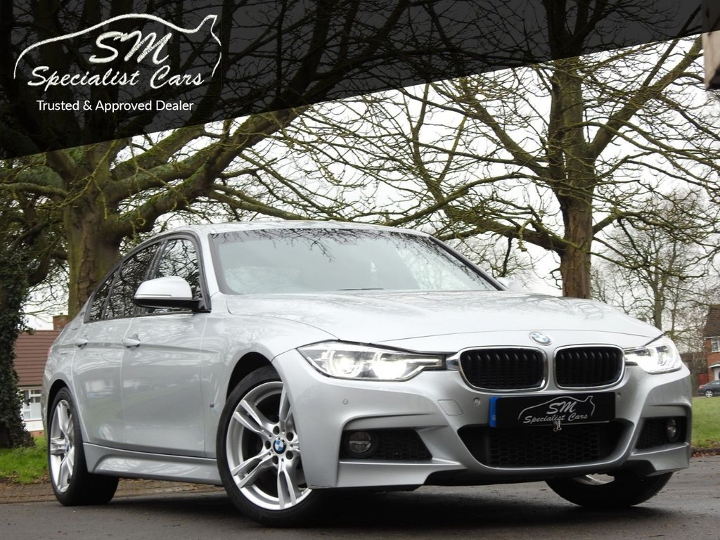 USED 2017 67 BMW 3 SERIES 2.0 330E M SPORT 4d 181 BHP 1 OWNER 36K SAT NAV A/C VAT Q