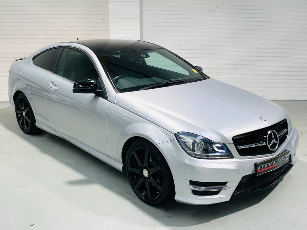 USED 2015 15 MERCEDES-BENZ C-CLASS 2.1 C220 CDI AMG SPORT EDITION 2d 168 BHP 2015 AMG Sport Edition Spec + Black Styling Pack