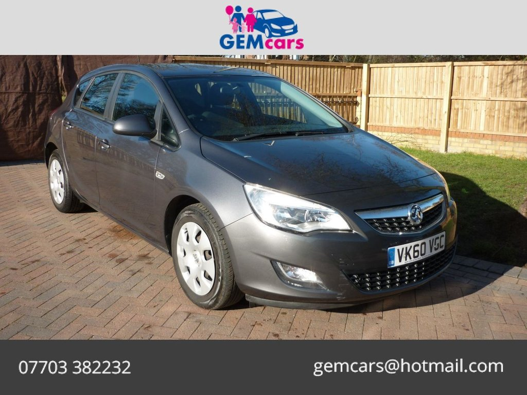 USED 2010 60 VAUXHALL ASTRA 1.6 ES 5d 113 BHP GO TO OUR WEBSITE TO WATCH A FULL WALKROUND VIDEO