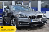 USED 2016 66 BMW 5 SERIES 2.0 520D SE 4d 188 BHP AUTOMATIC AVAILABLE FOR ONLY £265 PER MONTH WITH £0 DEPOSIT