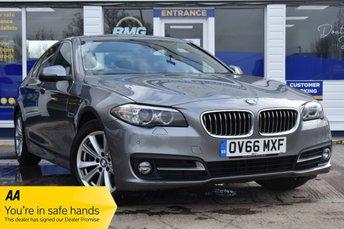 2016 BMW 5 SERIES 2.0 520D SE 4d 188 BHP AUTOMATIC £12750.00