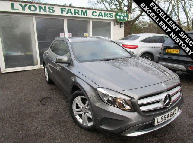 USED 2014 64 MERCEDES-BENZ GLA-CLASS 2.1 GLA 200 CDI SE EXECUTIVE 5d 136 BHP AUTOMATIC Excellent Service History, One Previous Owner, MOT until October 2021, Automatic, Excellent fuel economy! Only £30 Road Tax!