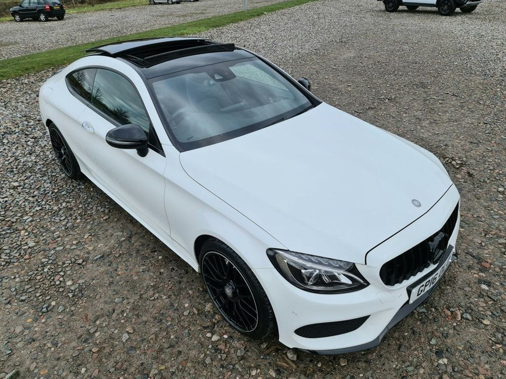 USED 2016 16 MERCEDES-BENZ C-CLASS 2.1 C 220 D AMG LINE PREMIUM PLUS 2d 168 BHP Free Next Day Nationwide Delivery