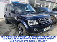 USED 2015 15 LAND ROVER DISCOVERY 4 3.0 SDV6 HSE LUXURY 5dr 7 Seat Family SUV 4x4 AUTO with Massive High Spec and Stunning in Loire Blue Metallic. Recent Service & MOT, New Battery & New Front Brakes. Now Ready to Finance & Drive away Today. 1 Former Keeper + Masses of Spec