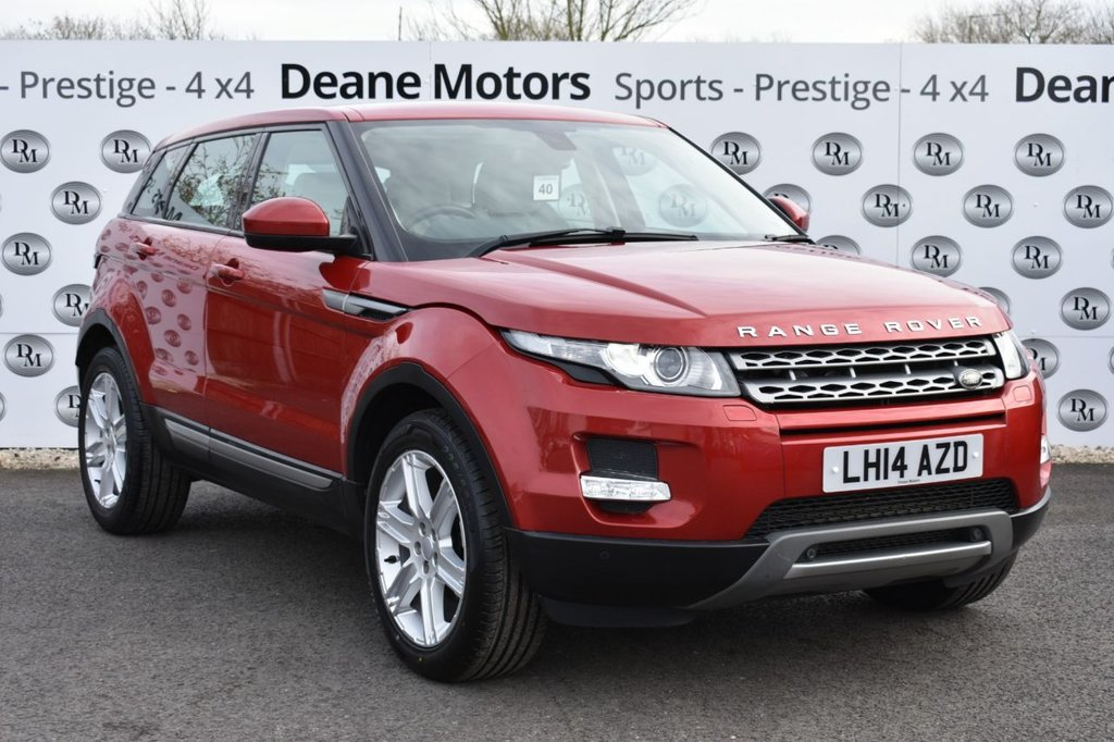 USED 2014 14 LAND ROVER RANGE ROVER EVOQUE 2.2 SD4 PURE TECH 5d 190 BHP PANORAMIC ROOF