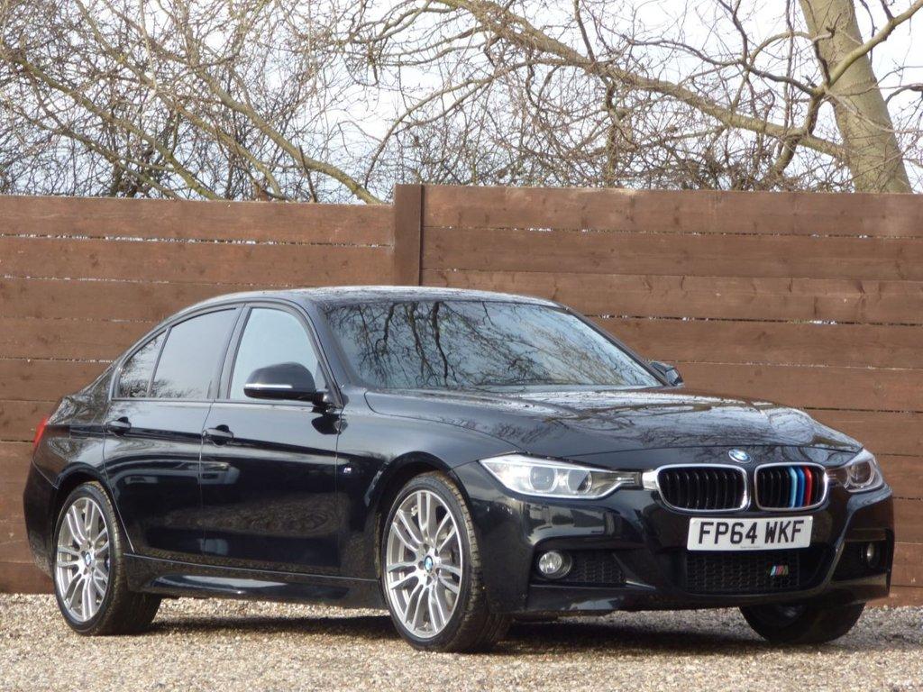 USED 2014 64 BMW 3 SERIES 2.0 318D M SPORT 4d 141 BHP