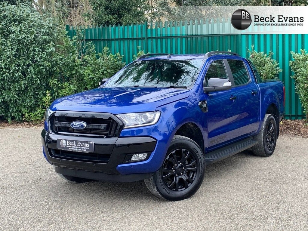 USED 2018 68 FORD RANGER 3.2 WILDTRAK X Special Edtion 4X4 DCB TDCI 4d 197 BHP