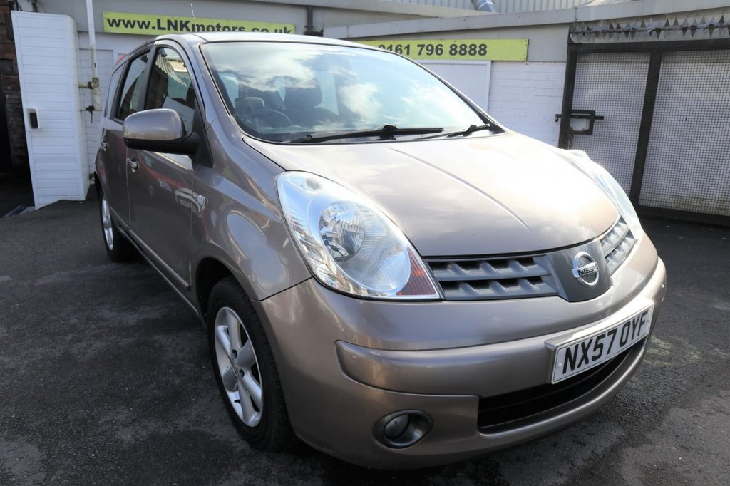 USED 2007 57 NISSAN NOTE 1.6 ACENTA 5d 109 BHP * P/X TO CLEAR - MOT JAN 2022 *