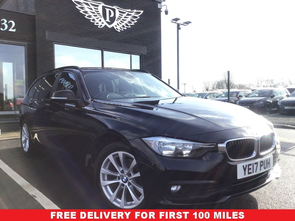 USED 2017 17 BMW 3 SERIES 2.0 316D SE TOURING 5d 114 BHP