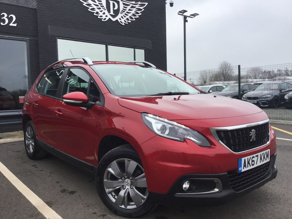 USED 2017 67 PEUGEOT 2008 1.6 BLUE HDI ACTIVE 5d 100 BHP
