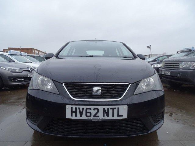 USED 2012 62 SEAT IBIZA 1.2 CR TDI S 5d 74 BHP £20 ROAD TAX
