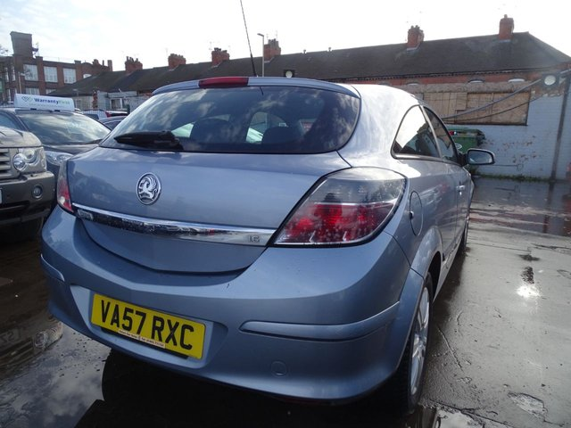 USED 2008 57 VAUXHALL ASTRA 1.6 DESIGN 3d 115 BHP DRIVES WELL GOOD SPEC