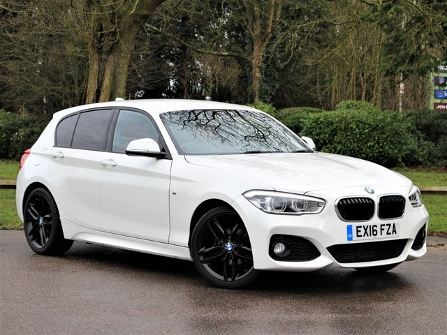 USED 2016 16 BMW 1 SERIES 1.5 118I M SPORT 5d 134 BHP £204 PCM With £1149 Deposit