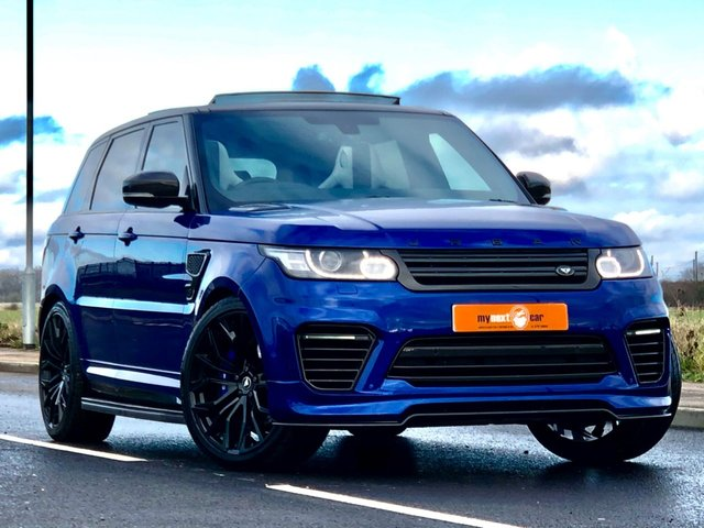 USED 2016 66 LAND ROVER RANGE ROVER SPORT 5.0 V8 SVR 5d AUTO 543 BHP HUGE SPEC PAN ROOF CARBON VGC