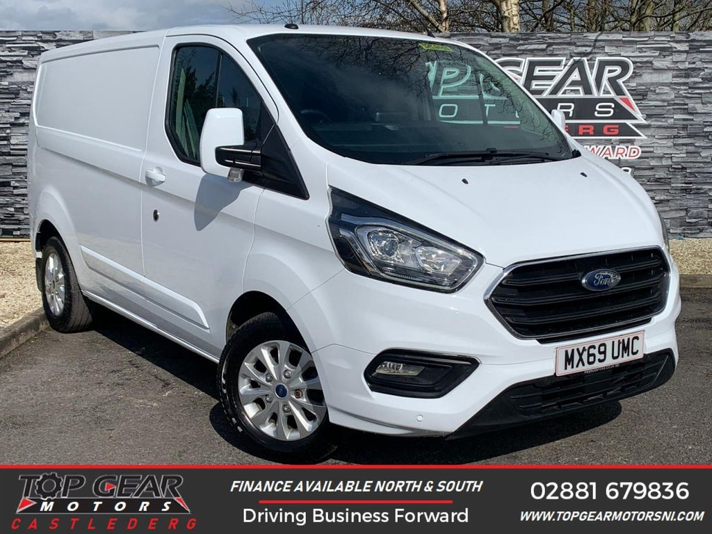 USED 2019 69 FORD TRANSIT CUSTOM 280 2.0 130BHP LIMITED L1 H1  ** HEATED SEATS, A/C, REVERSING CAMERA, TOW BAR ** OVER 90 VANS IN STOCK