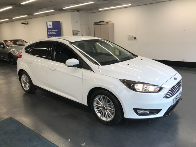 USED 2018 67 FORD FOCUS 1.0 ZETEC EDITION 5d 124 BHP 1 OWNER FROM NEW, TOUCHSCREEN SATNAV, REAR PARKING SENSORS,