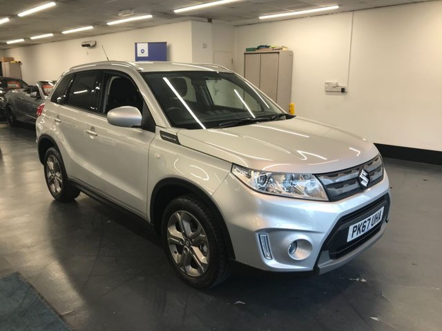 USED 2017 67 SUZUKI VITARA 1.6 SZ-T 5d 118 BHP 1 OWNER FROM NEW, REAR CAMERA, BLUETOOTH PHONE AND AUDIO