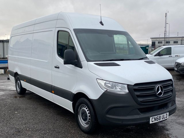2018 68 MERCEDES-BENZ SPRINTER 2.1 314 CDI LWB HIGH ROOF 141 BHP AIR CONDITIONING TOP SPEC