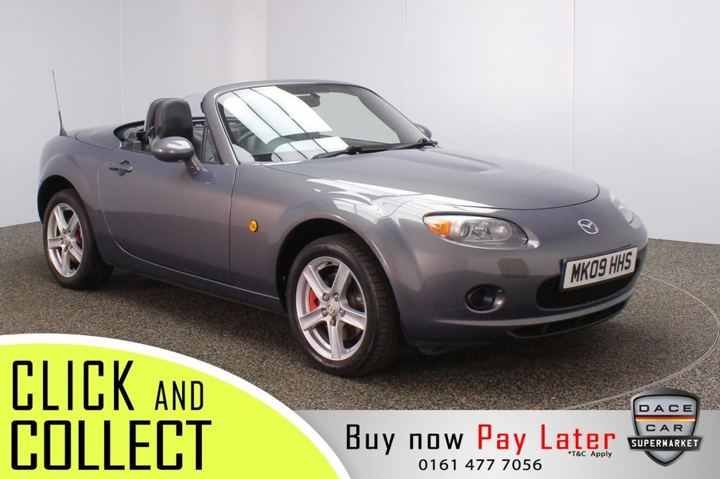USED 2009 09 MAZDA MX-5 2.0 I ROADSTER 2DR 160 BHP FULL SERVICE HISTORY + AIR CONDITIONING + RADIO/CD + AUX/USB PORTS + ELECTRIC WINDOWS