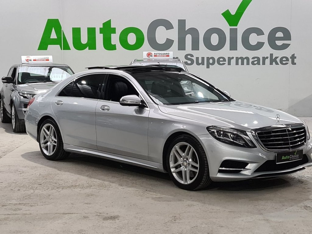USED 2013 63 MERCEDES-BENZ S-CLASS 3.5 S400 HYBRID L AMG LINE EXECUTIVE 4d 306 BHP