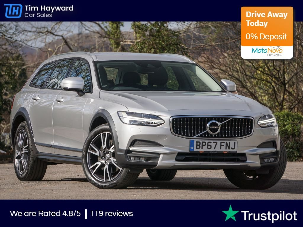 USED 2018 67 VOLVO V90 2.0 D4 CROSS COUNTRY PRO AWD 5d 188 BHP