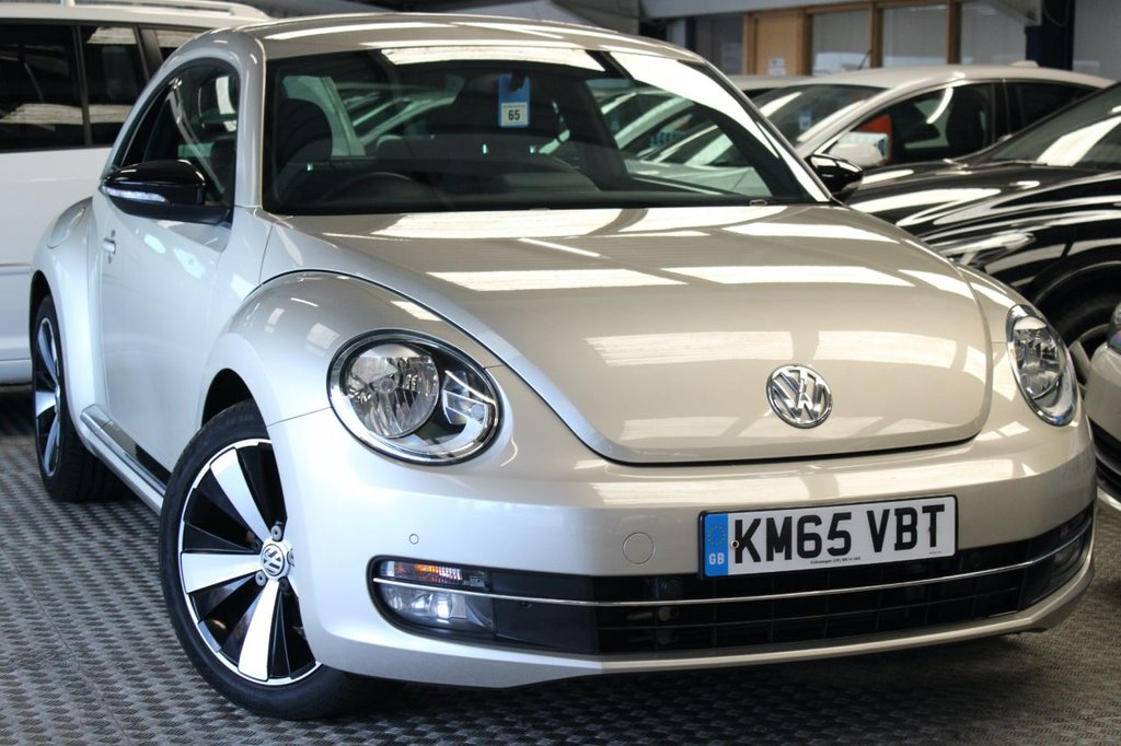 USED 2015 65 VOLKSWAGEN BEETLE 2.0 SPORT TDI BLUEMOTION TECHNOLOGY DSG 3d 148 BHP