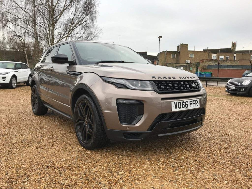 USED 2016 66 LAND ROVER RANGE ROVER EVOQUE 2.0 TD4 HSE Dynamic Auto 4WD (s/s) 5dr 1 Owner & High Spec