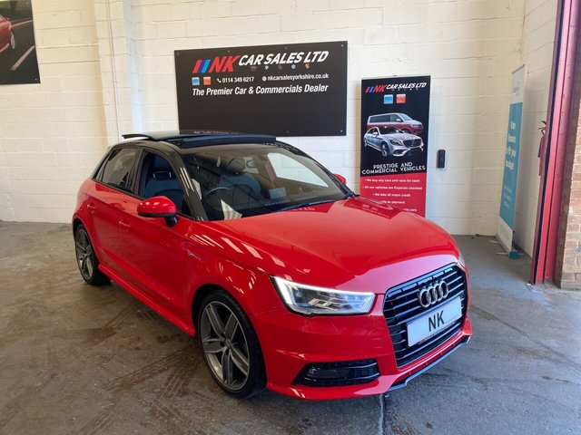 USED 2017 67 AUDI A1 1.6L SPORTBACK TDI BLACK EDITION 5d 114 BHP A RARE PAN ROOF MODEL FSH  A RARE OPENING PAN ROOF MODEL
