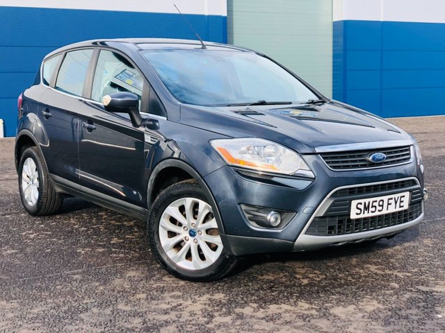 USED 2009 59 FORD KUGA 2.0 TITANIUM TDCI 4X4 AWD FSH 1 PRE OWNER 70K MILES LONG MOT FSH 70K MILES 1 PRE OWNER MOT OCT 21 SAME OWNER 11 YEARS