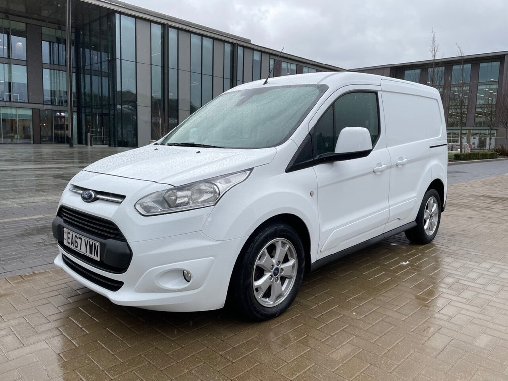 USED 2017 67 FORD TRANSIT CONNECT 200 LIMITED 1.5TDCI EURO 6 120ps L1 *AIRCON*ALLOYS*E/W* LIMITED-EURO 6-AIRCON-ALLOYS