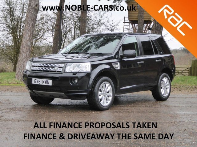 USED 2012 61 LAND ROVER FREELANDER 2.2 SD4 HSE 5d 190 BHP