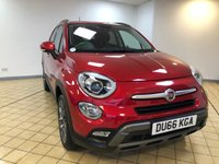 USED 2016 66 FIAT 500X 1.4 MULTIAIR CROSS PLUS 5d 5 Seat Petrol Family SUV 4x4 AUTO with Massive High Spec inc Sat Nav and Full Black Leather with Heated Seats plus AWD 4x4 System. Recent Service & MOT & 2 New Tyres. Now Ready to Finance and Drive Away Today The Perfect Family 4X4