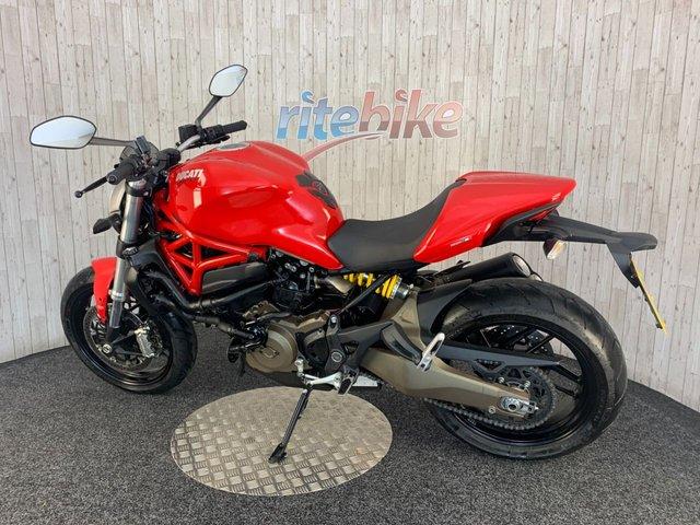 DUCATI Monster 821 at Rite Bike
