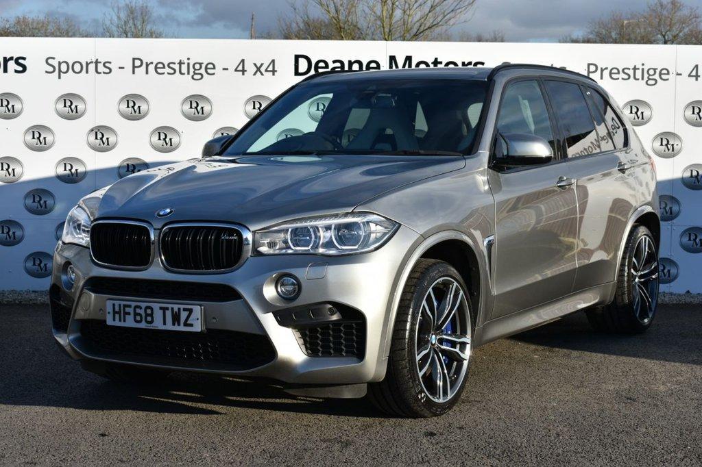 USED 2018 68 BMW X5 4.4 M 5d 568 BHP