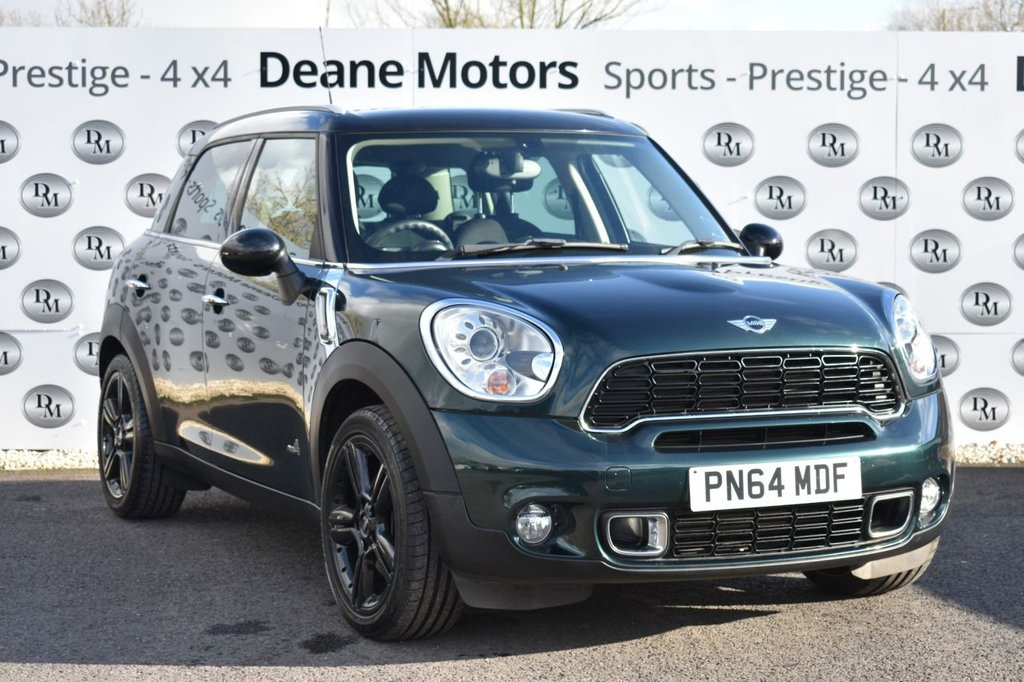 USED 2014 64 MINI COUNTRYMAN 1.6 COOPER S ALL4 5d 184 BHP CHILLI PACK