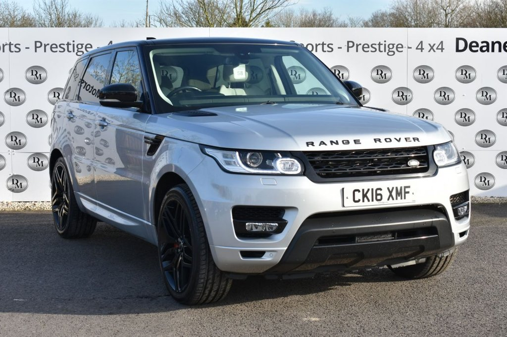 USED 2016 16 LAND ROVER RANGE ROVER SPORT 3.0 SDV6 HSE 5d 306 BHP STEALTH 22IN ALLOYS