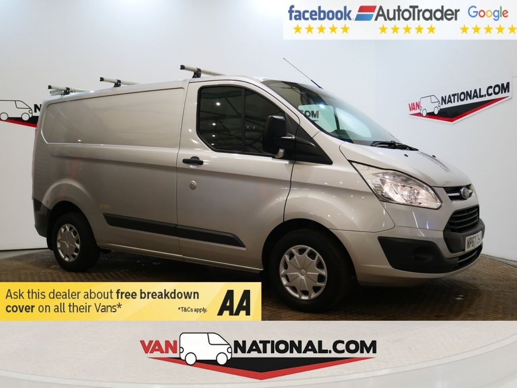 USED 2017 67 FORD TRANSIT CUSTOM 2.0 290 TREND LR P/V 105 BHP *EURO 6*AIR CON* * EURO 6 * AIR CON * CRUISE * ZERO DEPOSIT FINANCE AVAILABLE *