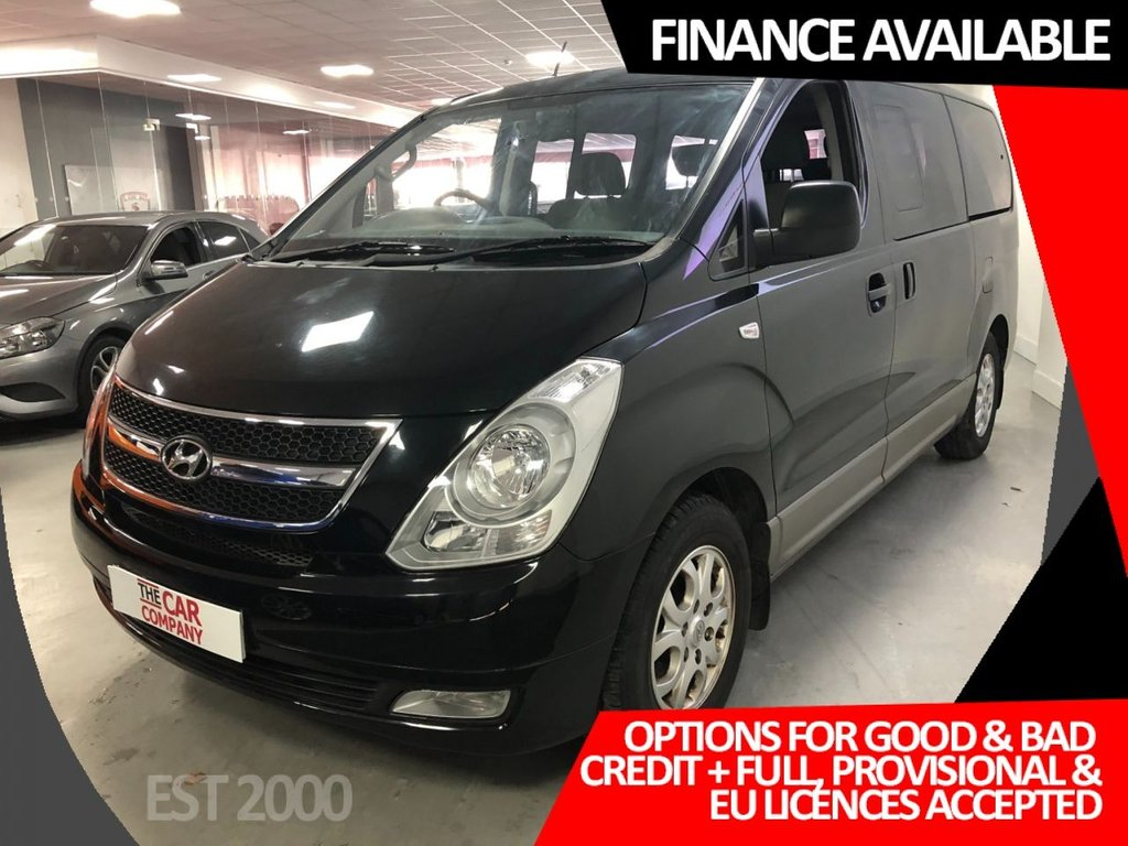 USED 2012 12 HYUNDAI I800 2.5 STYLE CRDI 5d 168 BHP * 8 SEATS * AIR CON *  MOT JUNE * 6 SERVICES *
