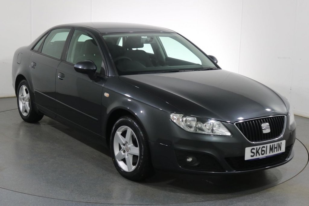 USED 2011 61 SEAT EXEO 2.0 S CR TDI 4d 141 BHP FULL 9 STAMP SERVICE HISTORY