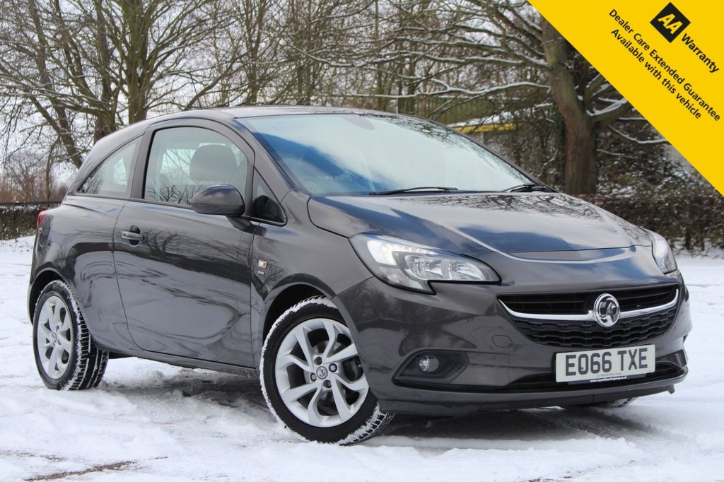 USED 2016 66 VAUXHALL CORSA 1.4 ENERGY AC ECOFLEX 3d 89 BHP ** FULL SERVICE HISTORY ** MOT UNTIL DEC 2021 + BRAND NEW SERVICE JAN 21 ** HEATED SEATS AND STEERING WHEEL ** CRUISE CONTROL ** AIR CONDITIONING **TOUCHSCREEN MEDIA AND BLUETOOTH INTERFACE** ALLOY WHEELS ** ONLY 30 POUNDS ROAD TAX ** LOW RATE £0 DEPOSIT FINANCE AVAILABLE ** NATIONWIDE DELIVERY AVAILABLE ** CLICK + COLLECT AVAILABLE **