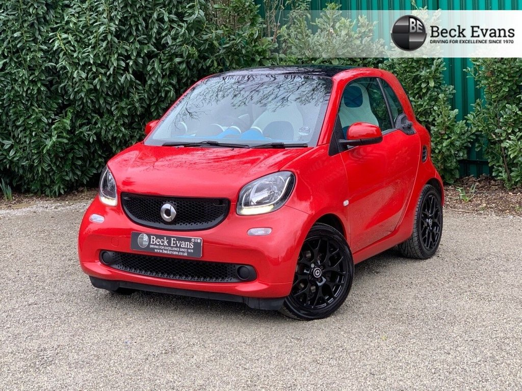 USED 2016 66 SMART FORTWO 0.9 PROXY T 2d 90 BHP