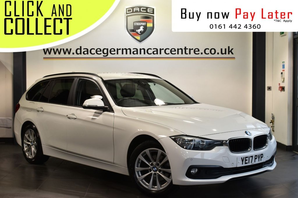 USED 2017 17 BMW 3 SERIES 2.0 316D SE TOURING 5DR AUTO 114 BHP