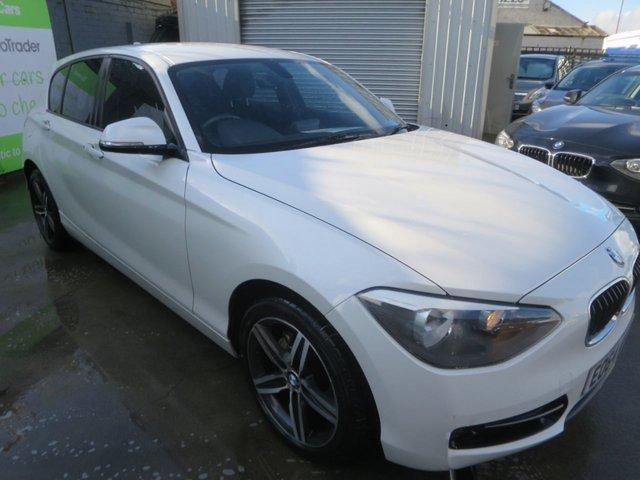 2014 64 BMW 1 SERIES 2.0 116D SPORT 5d 114 BHP