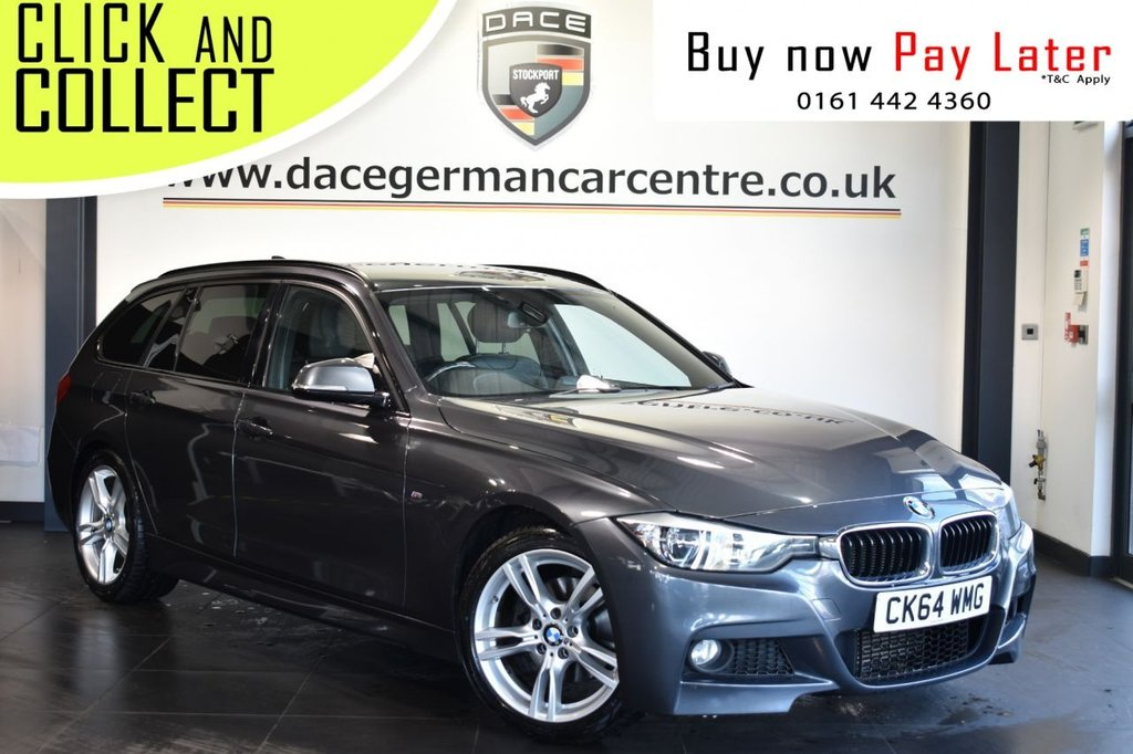 USED 2014 64 BMW 3 SERIES 2.0 320D M SPORT TOURING 5DR 181 BHP