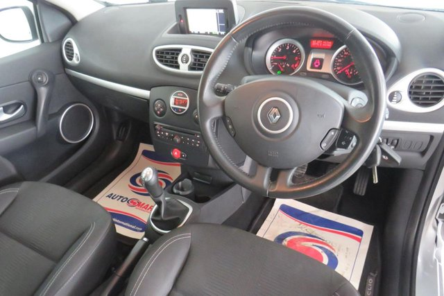 USED 2011 11 RENAULT CLIO 1.5 GT LINE TOMTOM DCI FAP 3d 88 BHP