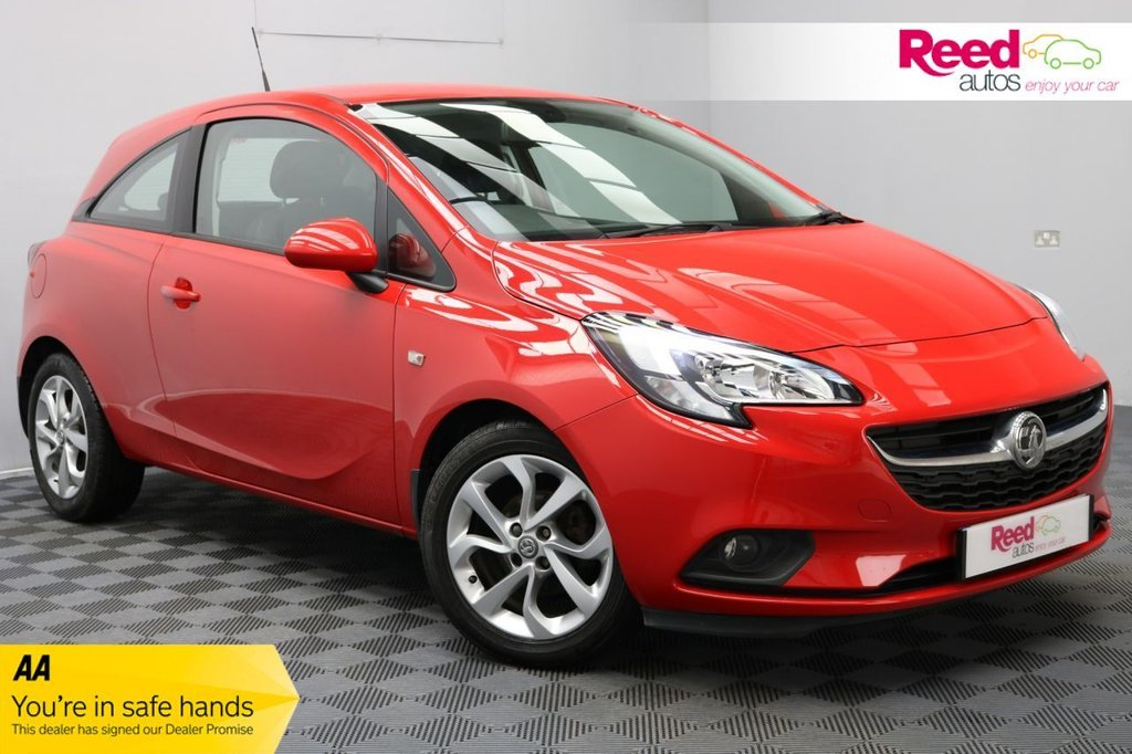 USED 2015 15 VAUXHALL CORSA 1.2 EXCITE AC 3d 69 BHP FULL SERV HIST+1 FORMER KEEP+BTOOTH/USB+CRUISE CON+WINTER PACK
