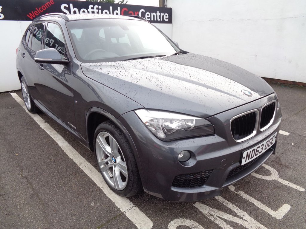 USED 2013 63 BMW X1 2.0 XDRIVE25D M SPORT 5d 215 BHP 4X4 AWD 4WD Heated seats  sun protection pack   gear shift paddles   driver comfort pack   automatic