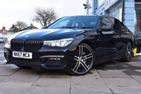 USED 2017 67 BMW 7 SERIES 3.0 740D XDRIVE M SPORT 4d 315 BHP CARBON CODE EDITION AUTOMATIC FINANCE FROM £499 WITH £1000 DEPOSIT
