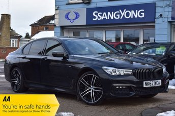 2017 BMW 7 SERIES 3.0 740D XDRIVE M SPORT 4d 315 BHP CARBON CODE EDITION AUTOMATIC £26000.00