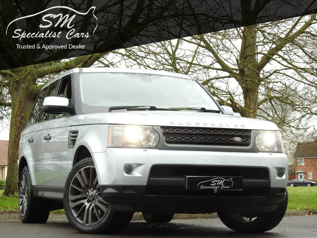 USED 2009 P LAND ROVER RANGE ROVER SPORT 3.0 TDV6 HSE 5d 245 BHP ONLY 71K FROM NEW A/C VGC
